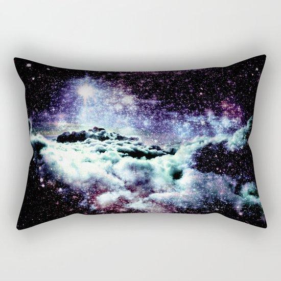 Pastel Galaxy Clouds Rectangular Pillow