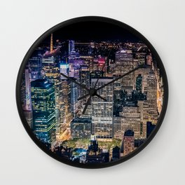 Over Times Square Wall Clock