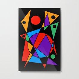 Abstract #85 Metal Print