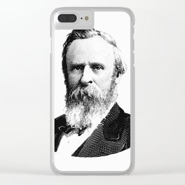President Rutherford B. Hayes Clear iPhone Case