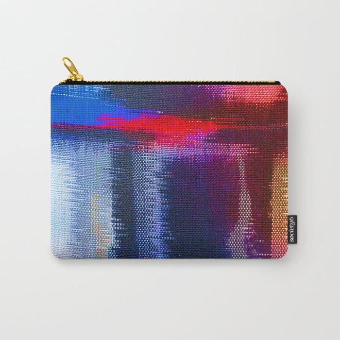 Splat Fabric Carry-All Pouch