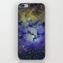 Pansy in Space iPhone Skin