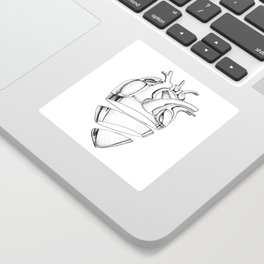Heart of Chrome Sticker