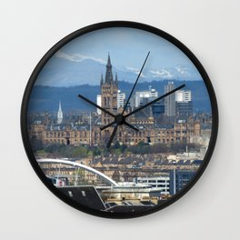 Glasgow University and Ben Lomond Wall Clock