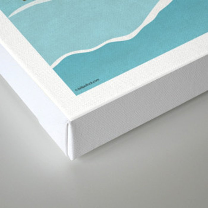 YYCFlood Canvas Print