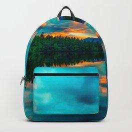 Images USA Chocorua Lake, New Hampshire Nature Lake Scenery Sunrises and sunsets sunrise and sunset landscape photography Backpack