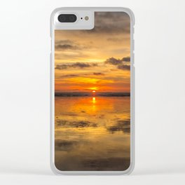 Earths Ocean Clear iPhone Case