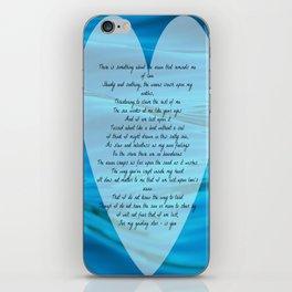 Upon Love's Ocean iPhone Skin