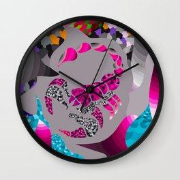 Scorpio Neon Wall Clock