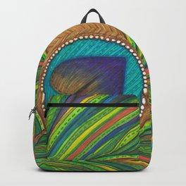 Eye Heart Feathers Backpack