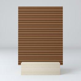Bronze Tone Stripe Mini Art Print