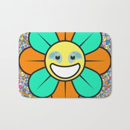 SUPER FLOWER POWER Bath Mat