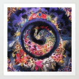 Oracular Orbit Art Print