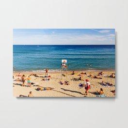 Barceloneta Beach - #6 Metal Print