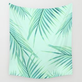 Summer Palm Leaves Dream #1 #tropical #decor #art #society6 Wall Tapestry