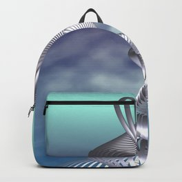 spirals and clouds -1- Backpack