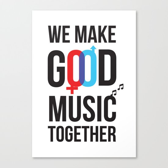 Good Music Canvas Print