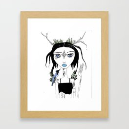 Migration Anxiety Framed Art Print