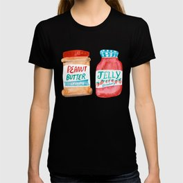 Peanut Butter & Jelly Watercolor T-shirt