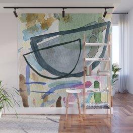 Abstract watercolor still life #1 Wall Mural