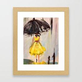 French Lady Framed Art Print