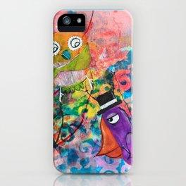 Mr. Grumpy Pants - Quirky Bird Series iPhone Case