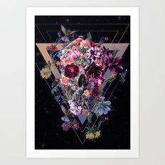 New Skull Art Print