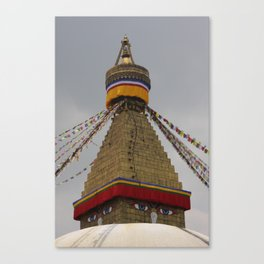 Bodhinath Stupa Canvas Print