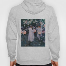 Carnation, Lily, Lily, Rose Hoody