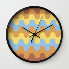 Age's colors Wall Clock