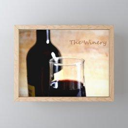 The Winery II Framed Mini Art Print