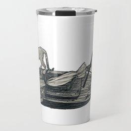 Tiger Boat Lost at Sea Travel Mug