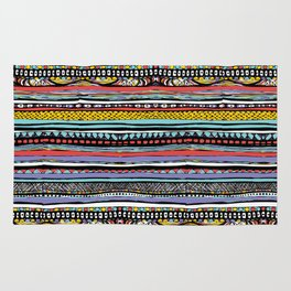 patterns of color Rug