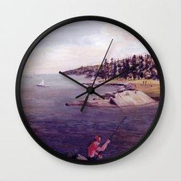 Halifax, Nova Scotia, CANADA                              by Kay Lipton Wall Clock