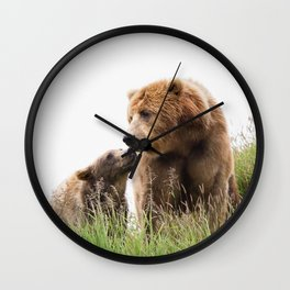 Bears Love Wall Clock