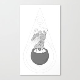 Ocular Witch Doctor Canvas Print