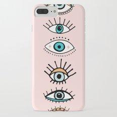 eye illustration print Slim Case iPhone 7 Plus