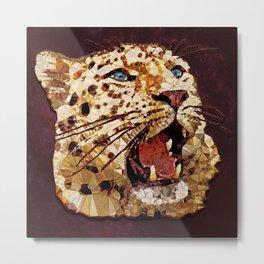 Abstract  gepard Metal Print
