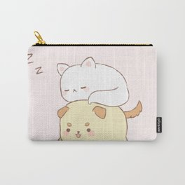 Kitty and puppy Carry-All Pouch