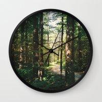 vermont Wall Clocks featuring Vermont by marisa ann
