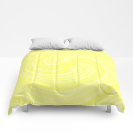 Baked Banana Custard Swirl Comforters