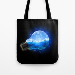 Small Paradise Tote Bag