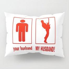 GUITARIST - MY HUSBAND Pillow Sham