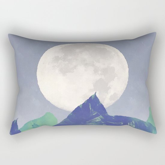 Vintage Moon Dance #society6 Rectangular Pillow