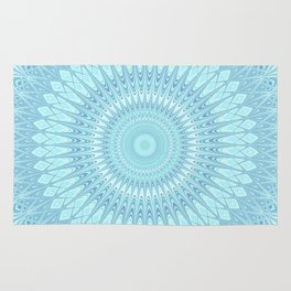 Ice Star Mandala Rug