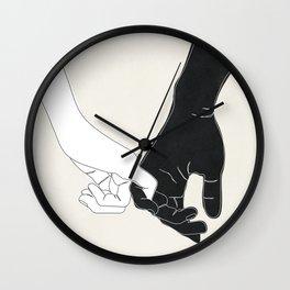 Pinky Promise II Wall Clock