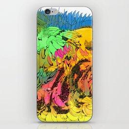 Neon Magic iPhone Skin