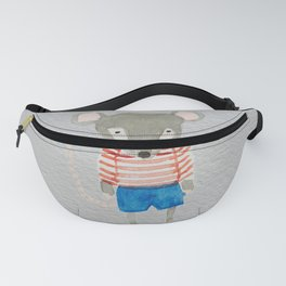 Shy Little Mouse Forest Friends Fanny Pack