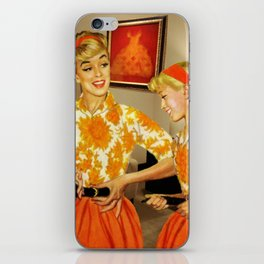 Daughter and Her Narcissistic Mother iPhone Skin