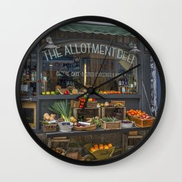 The Deli. Wall Clock